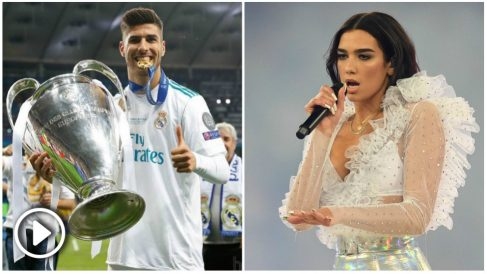 ¿Pasaron la noche juntos Asensio y Dua Lipa tras la final de la Champions?