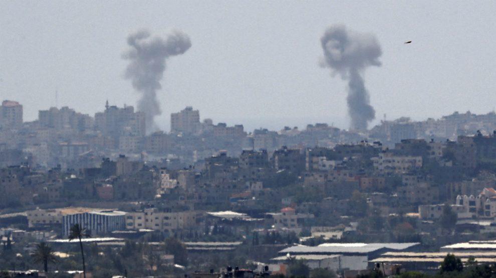 Bombardeos de Israel en Gaza (AFP).