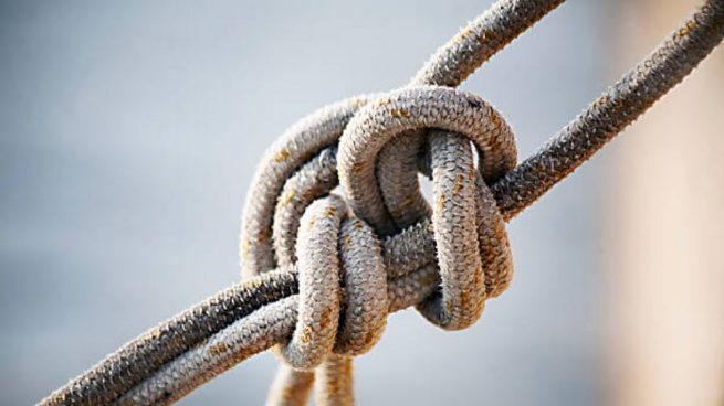 C mo hacer nudos marineros paso a paso - Como hacer alfombras de nudos ...