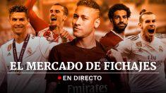 Mercado de Fichajes de Fútbol 2018 en directo.
