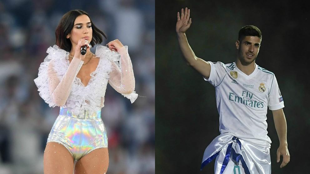 Dua Lipa aseguró en sus redes sociales que no mantuvo ninguna relación con Marco Asensio.