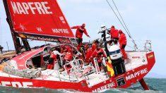 El MAPFRE durante una etapa de la Volvo Ocean Race. (Getty)