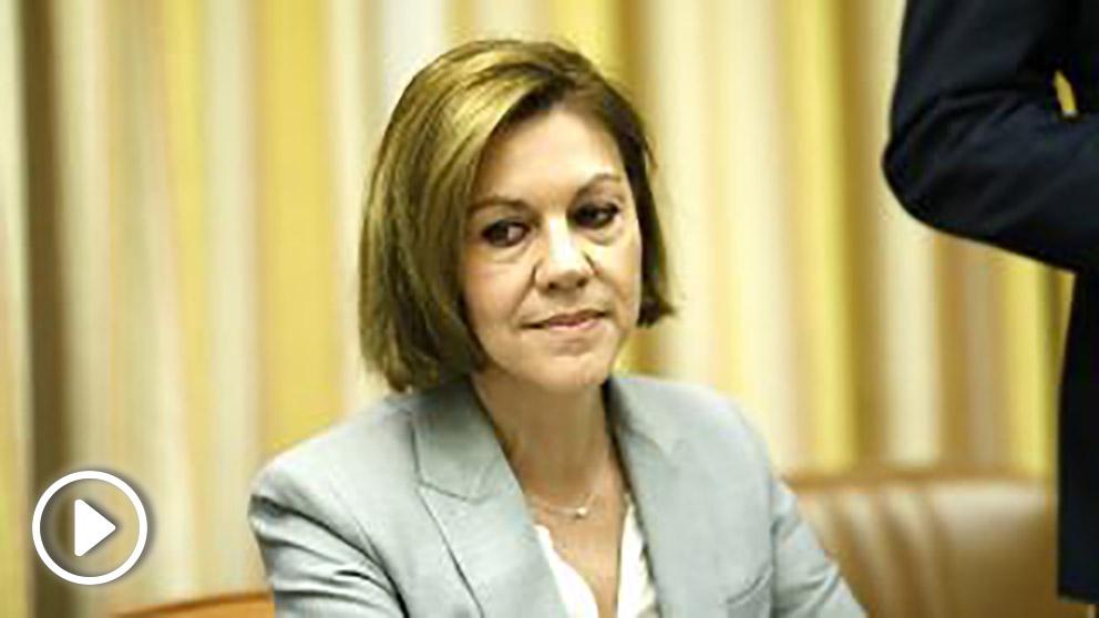 María Dolores de Cospedal, ministra de Defensa y secretaria general del PP. (EP)