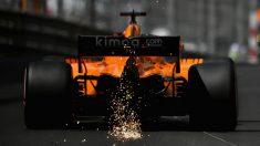 El McLaren MCL33 de Fernando Alonso llevará interesantes mejoras a Canadá, donde esperan dar un nuevo salto de rendimiento para confirmarse como el cuarto mejor equipo de la parrilla. (Getty)