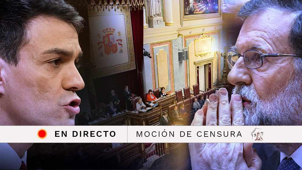 Moción de censura contra Mariano Rajoy | Congreso de los Diputados en directo