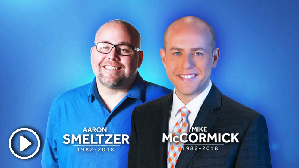 Mike McCormick y Aaron Smeltzer.