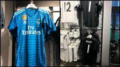 Camisetas de portero del Real Madrid.