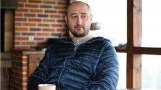 Arkady Babchenko, periodista ruso exiliado en Kiev, Ucrania. (AFP)