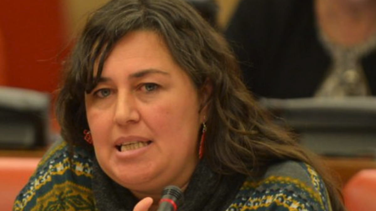 Auxiliadora Honorato, diputada de Podemos en esta legislatura.