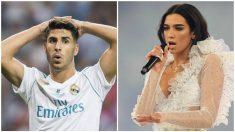Marco Asensio y Dua Lipa ha sido durante un breve periodo de tiempo la pareja de moda en Twitter.
