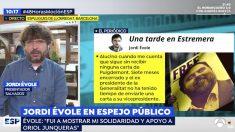 Jordi Évole en su intervención en el programa 'Espejo Público'