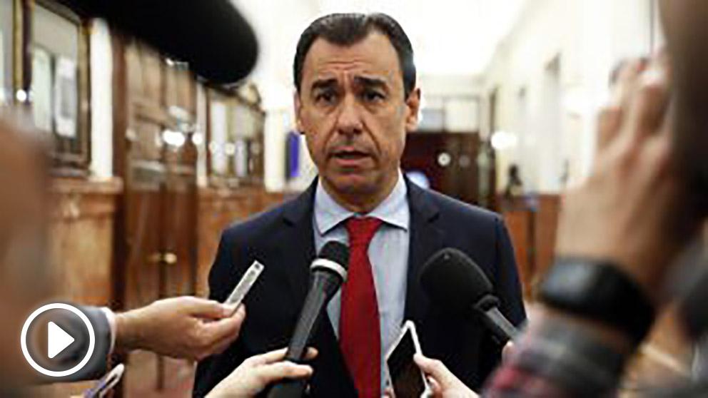 Fernando Martínez-Maillo, coordinador general del PP. (Foto: EFE) | Moción de censura Rajoy