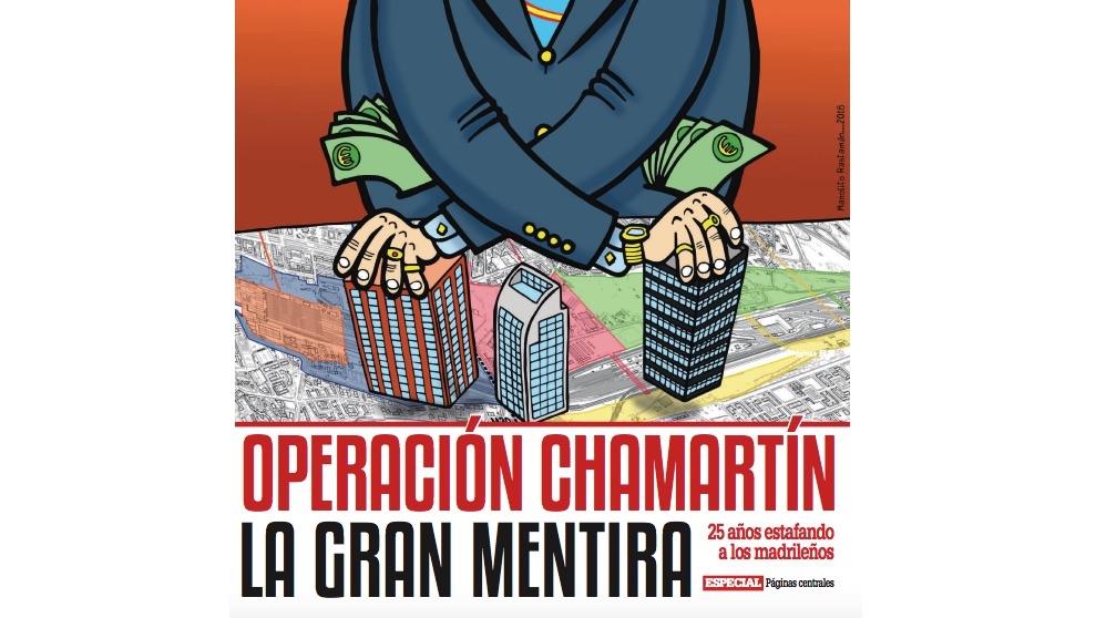 Folleto de la Operación Chamartín.