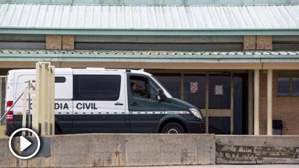 Furgón de la Guardia Civil. Foto: EFE