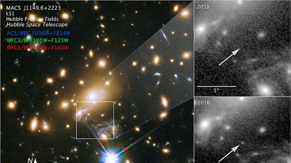 Ícaro, la estrella más lejana del universo