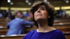 La ex vicepresidente Soraya Sáenz de Santamaría. (Foto. GPP)