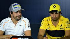 Carlos Sainz y Fernando Alonso disfrutarán en Canadá de la nueva evolución del motor Renault, que entregará, según datos del banco de pruebas francés, hasta 30 CV más de potencia. (getty)