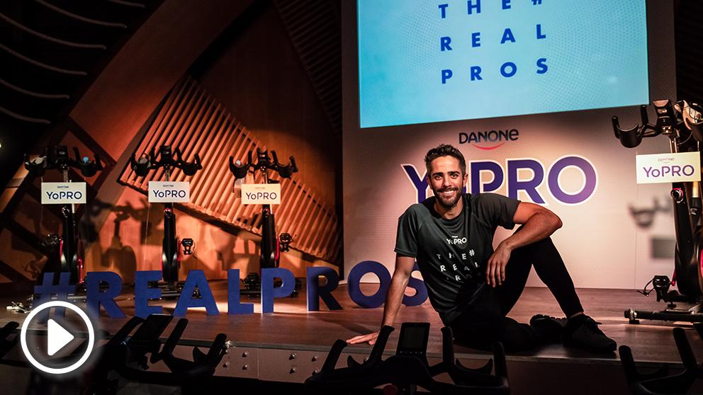 Roberto Leal presentó la nueva apuesta de Danone por el deporte saludable.