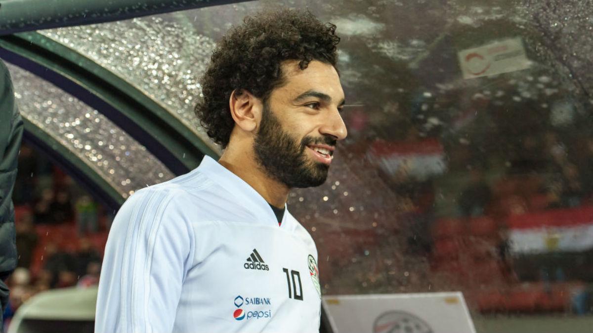 Mohamed Salah estará en el Mundial. (Getty)