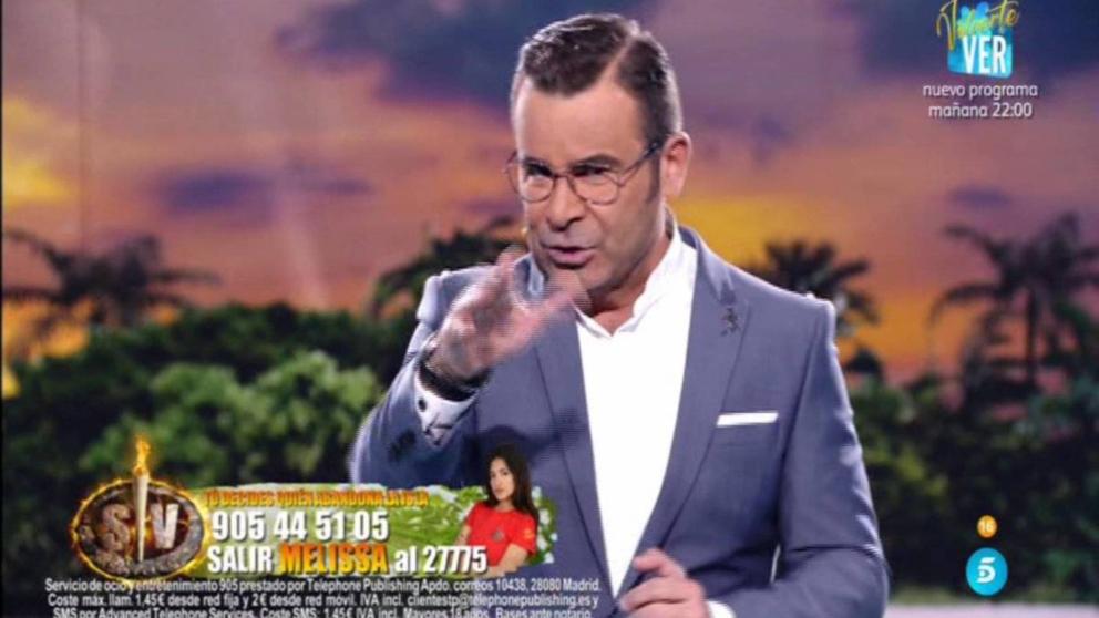 Jorge Javier Vázquez tuvo que desmetir las acusaciones de Dulce contra 'Supervivientes'