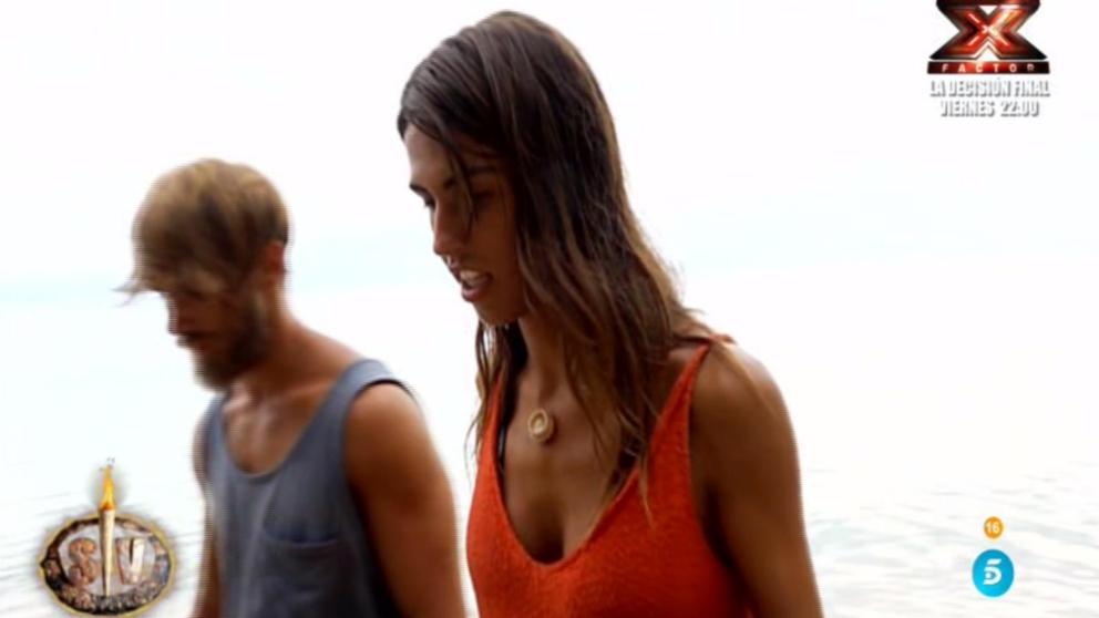 Sofía y Sergio tres días atados en 'Supervivientes'
