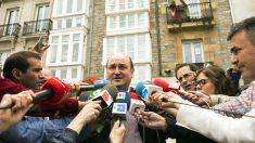 Andoni Ortuzar, presidente del PNV. (Foto: EFE)