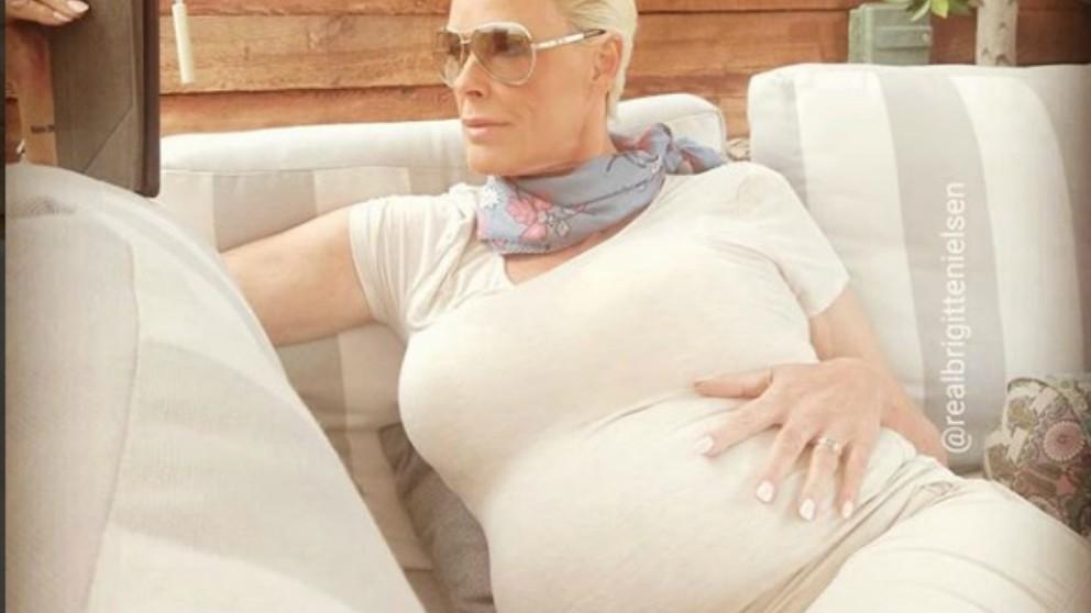 Brigitte Nielsen embarazada a los ¡54 años!