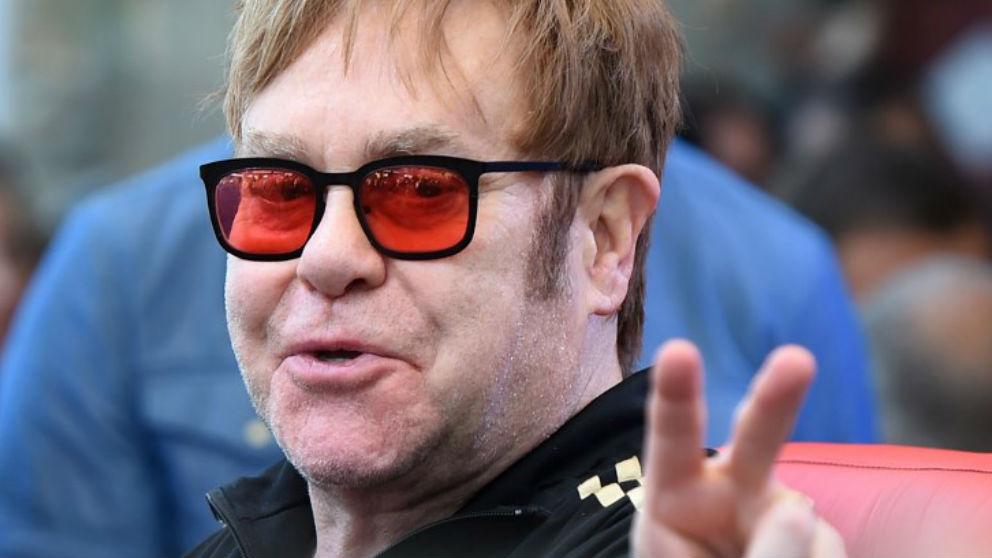 Elton John. Foto: AFP
