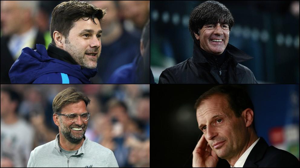 Pochettino, Löw, Klopp o Allegri posibles candidatos al banquillo del Real Madrid.