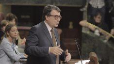 El portavoz del PNV, Aitor Esteban (Foto: Francisco Toledo).