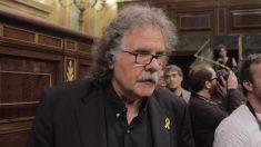Joan Tardà (ERC), durante la moción de censura. (Foto: Francisco Toledo)
