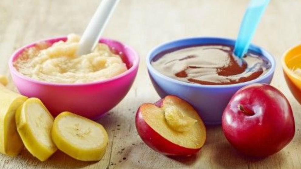 Las ventajas de las papillas de frutas para bebés