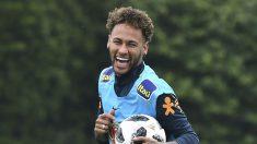 "Neymar: ""Mi padre no toma decisiones en mi carrera""  (AFP)"