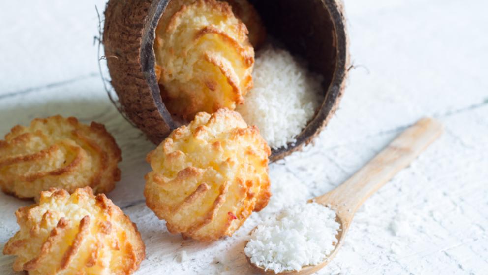 Receta de Pastas de coco fáciles de preparar