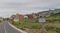 Entrada a la localidad de La Matanza, en Tenerife.