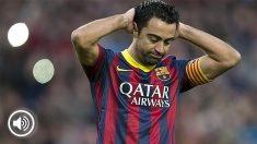 Xavi criticó la política de fichajes del Barcelona.