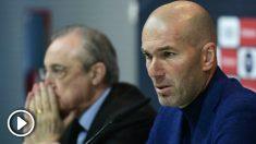 Zidane dice adiós al Real Madrid.