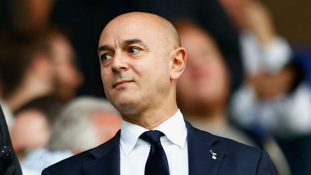 Daniel Levy, presidente del Tottenham, un duro negociador. (Getty)