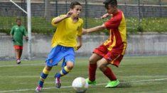 Jeremy Jorge durante un partido con Las Palmas. (udlaspalmas.net)