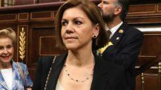 Maria Dolores de Cospedal en el Congreso de los Diputados. Foto: EFE