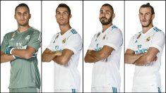 Keylor Navas, Cristiano Ronaldo, Benzema y Bale tienen su futuro en el aire.