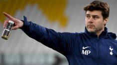 Mauricio Pochettino, en un entrenamiento con el Tottenham. (AFP)