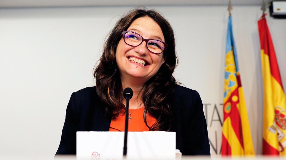 Mónica Oltra. (Foto: EFE)