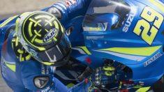 Andrea Iannone ha dominado la primera sesión de entrenamientos libres del GP de Italia de MotoGP, en la que Marc Márquez ha sido sexto con Dovizioso tercero. (Getty)