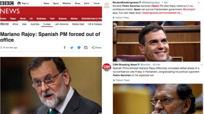 prensa internacional Pedro Sánchez