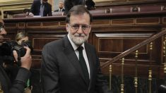 Mariano Rajoy en el Congreso de los diputados tras la moción de censura. (Foto: Francisco Toledo).