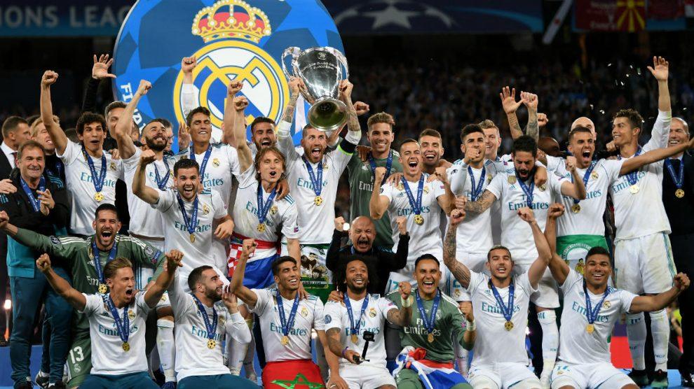 El Real Madrid levanta la Decimotercera.
