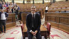 Pedro Sánchez se convierte en presidente tras la moción de censura a Rajoy. (Foto: Francisco Toledo).