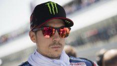 Maverick Viñales ha valorado muy positivamente el posible regreso de Jorge Lorenzo a Yamaha, al ser un piloto rápido y con un estilo de pilotaje diferente al suyo. (getty)