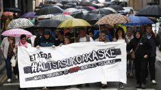 Manifestación en Alsasua en defensa de los agresores de dos guardias civiles y sus parejas. (Foto: EFE)